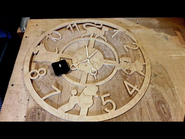 Часы . ЧПУ фрезер (12)