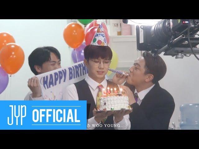 "[Видео] 180122 Jang Wooyoung ""뚝"" M/V Making Film! (Feat. Jun. K, Chansung)"