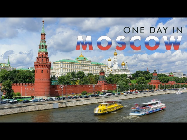 Москва, Россия | One Day in MOSCOW - Timelapse Hyperlapse project | City of FIFA 2018 World Cup