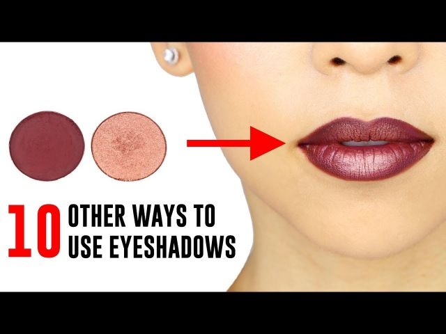 10 Ways You Didnt Know You Could Use Your Eyeshadows