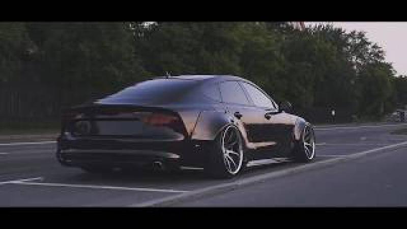Audi S7 Liberty Walk - CAR PORN - Night Lovell - Deira City Centre