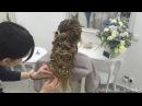 Текстурная греческая коса с лепными узорами.Обучение.Показ.