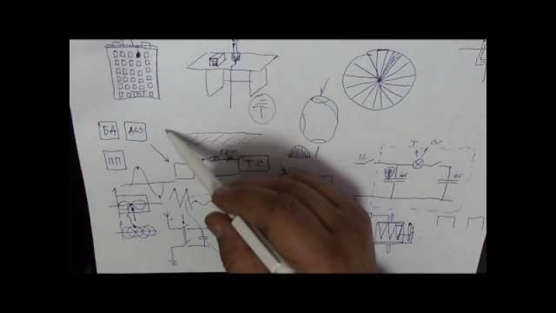 ДЛR38. Тесла свич. 4. Полный эквивалент заземления