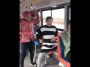 Прикол с беременной женщиной в автобусе 😂