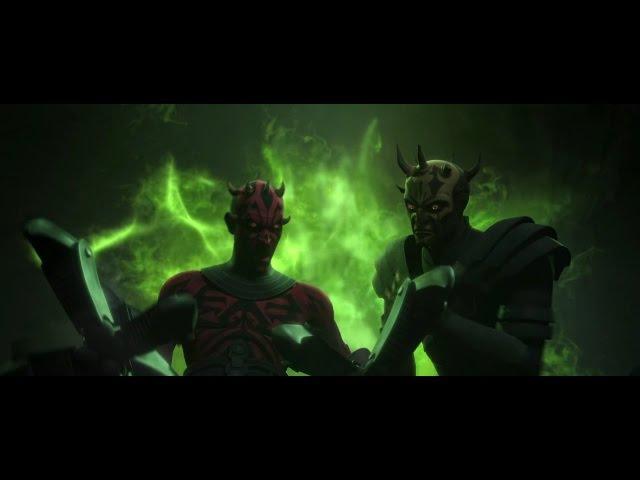 Star Wars Clone Wars Darth Maul Gets His new Legs From Mother Talzin HD