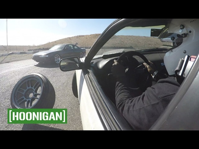 [HOONIGAN] Unprofessionals Unseasoned EP5 Animal Style Seat Time Clinic - Hert breaks his 240sx