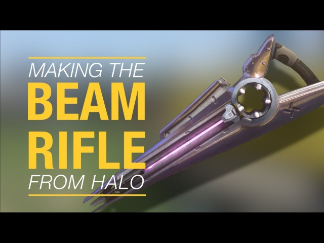 Making Halo's beam rifle sound with just an iPhone mic
