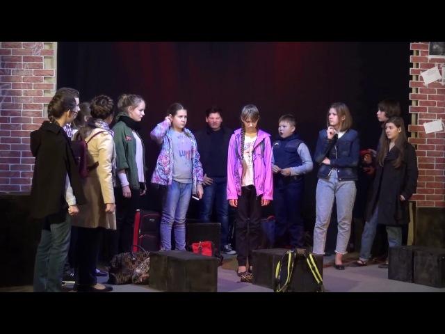 Спектакль Чучело. Учебный театр Муравейник.2017
