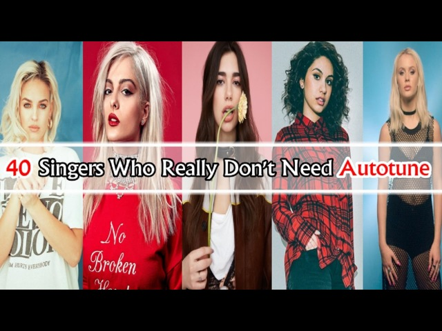 40 Singers Who Really Don't Need Autotune