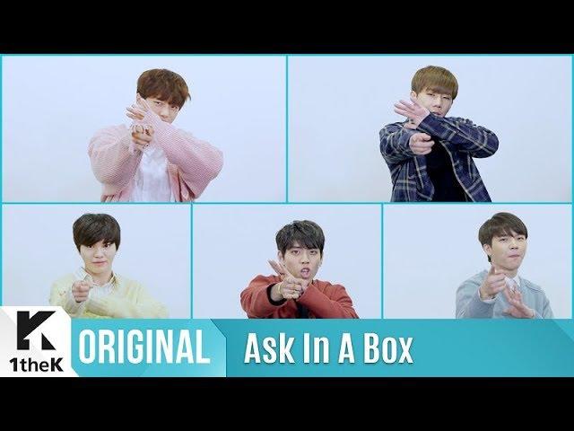Ask In A Box Special(에스크 인 어 박스 스페셜): INFINITE(인피니트) _ TELL ME(제자리 댄스 Ver.)