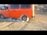1990 Ford Transit Burn Out 2