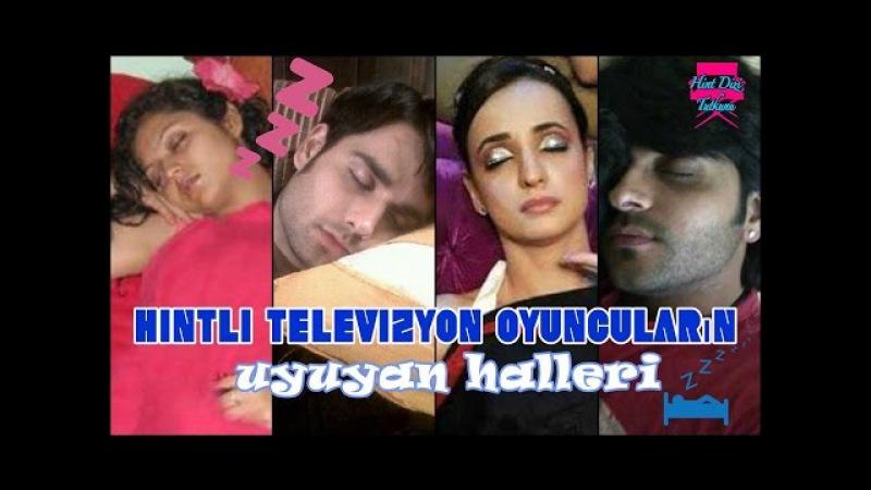 Hintli televizyon oyuncuların uyuyan halleri