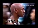 Michael Jordan (Age 40) Monster Block on Nick Van Exel! ''I'm Still King of the Floor!''