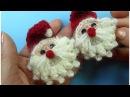 СУПЕР ПРОСТОЙ ДЕД МОРОЗ крючком вязание How to crochet Santa Claus
