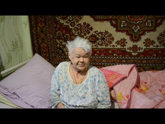 Помощь жителя Израиля пожилой женщине