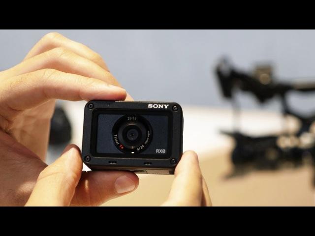 Смотрим самую прочную камеру Sony RX0