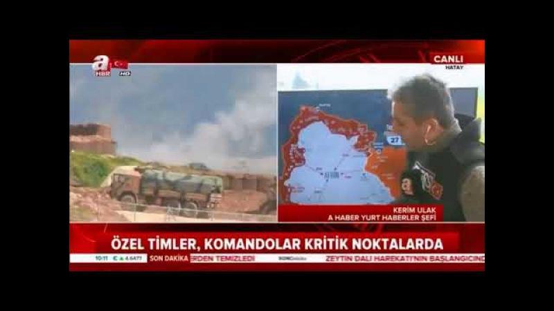 Afrin Operasyonu 41 Gün Suriye Haritası ! 2 Aşama başladı ! Cumhurbaşkanı Erdoğan 1 Mart 2018ipad