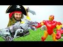 Кто сломал 3Д принтер Железного Человека? Игрушки Трансформеры