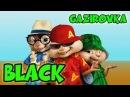 Элвин и Бурундуки поют BLACK Танцы в моей кровати GAZIROVKA