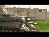 VIDEO Syrian Army tanks burst through walls to outflank rebel defenses in east Damascus