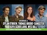 MAZE RUNNER | Dylan OBrien, Thomas Brodie-Sangster, Kaya Scodelario, Wes Ball