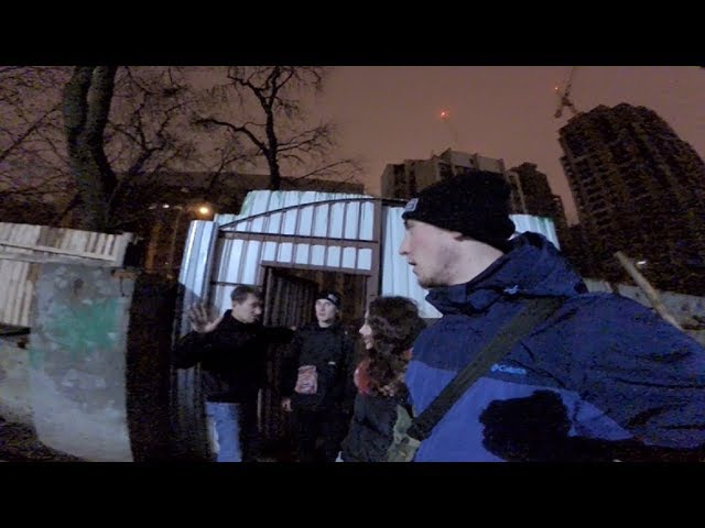 Позвал охрану чтобы залезть з школьницой на крышу здания руферы в деле