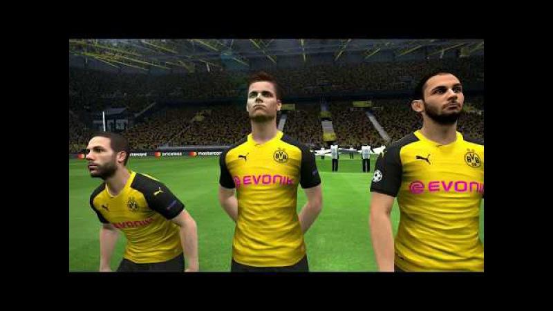 Borussia Dortmund vs Real Madrid   UEFA Champions League   Signal Iduna   PES 2017 Full HD 1080p60