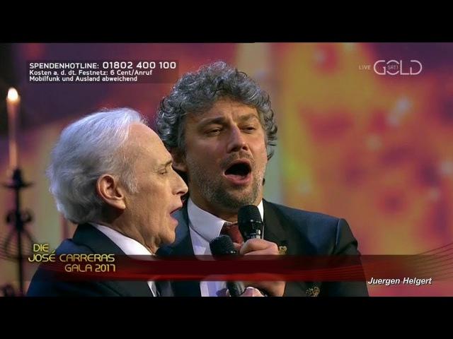 José Carreras Jonas Kaufmann Cantique de Noël O Holy Night Sophie Pacini piano