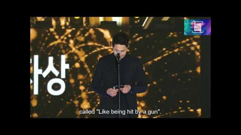 [ENG SUB] BTS reaction Bang Si Hyuk PD Win Best Producer @Seoul Music Awards 2018 27th 서울가요대상 180125