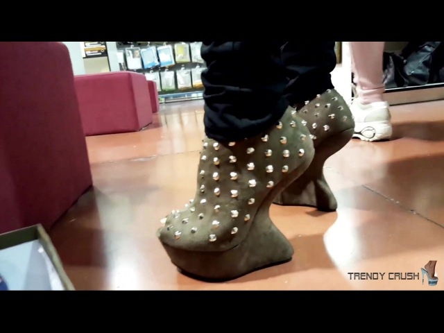 Public Try High Heels Shoes NO Enamel 002