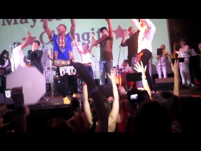 Завершение концерта Mayito и Changito