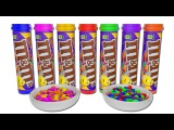 Learn Colors with M&ampM Candy for Children - 3d Simple Songs &amp Nursery Rhymes - Johny Johny Yes Papa