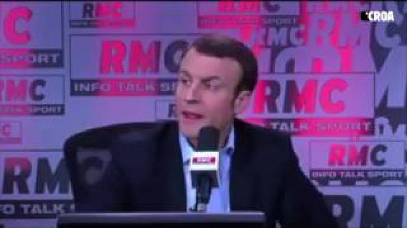 Emmanuel Macron creuse son propre trou sur le plateau de Jean-Jacques Bourdin