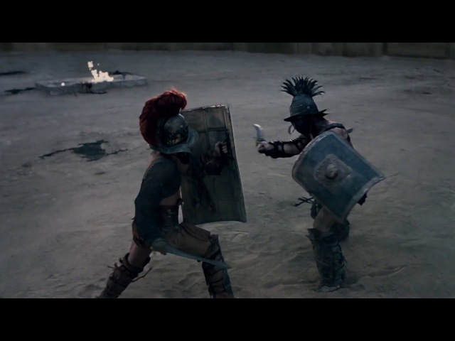 Spartacus. Blood and sand. (Спартак. Кровь и песок.Бой с Криксом) Prodigy