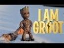 Фигурка Малыш Грут. Ручная работа. Стражи галактики. Я есть Грут. I AM GROOT
