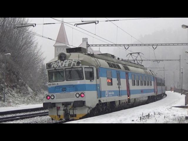 Vlaky Bílovice nad Svitavou 21.12.2017
