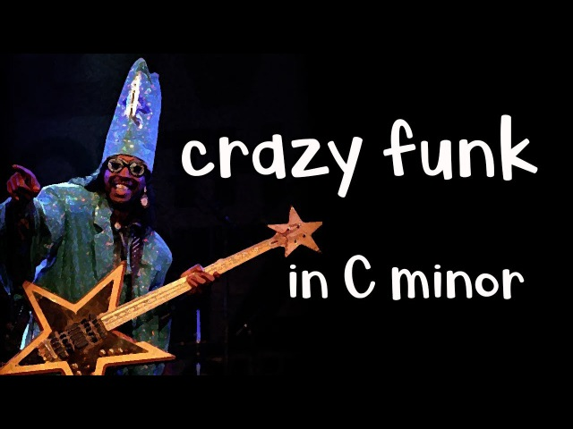 Crazy Funk Backing Track Jam in Cm Dorian