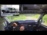 Insane Onboard Volvo 940 Rally Car (Full Attack Top Speed) HD