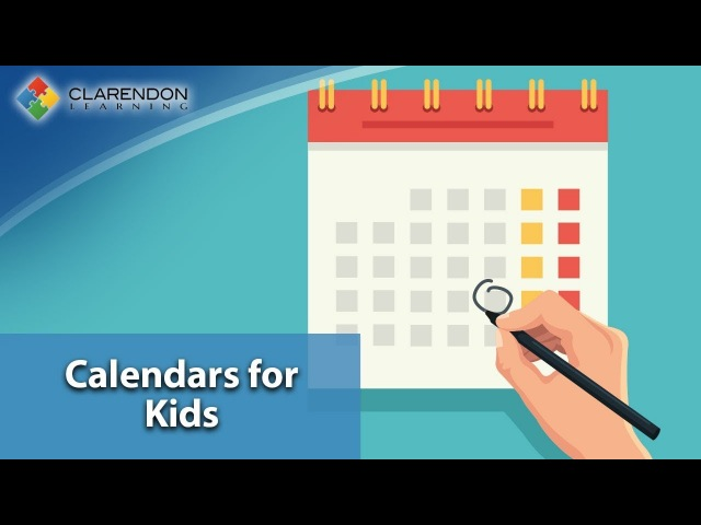 Calendar for Kids - Months and Days