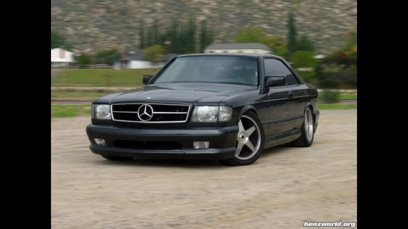 Tuning Mercedes Benz W126