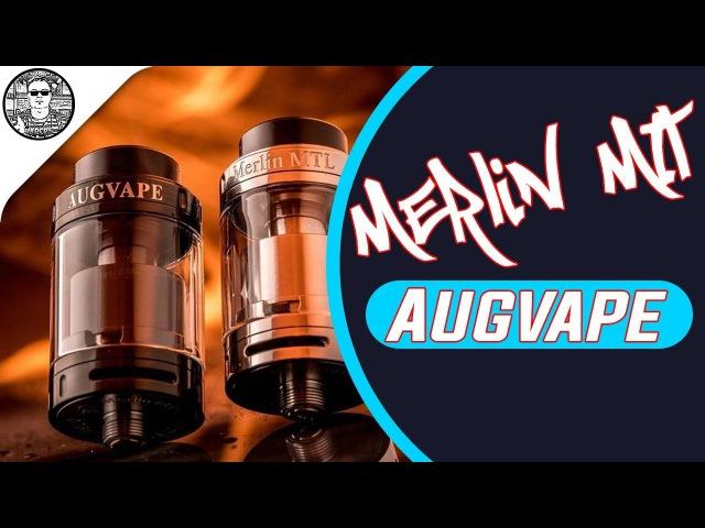 MERLIN MTL RTA by Augvape БАК УНИВЕРСАЛ