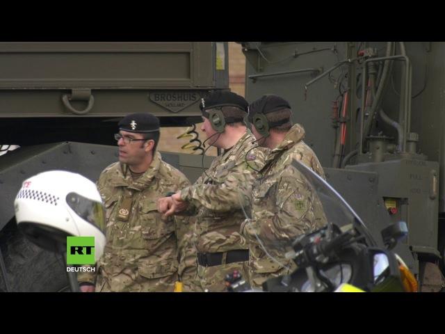 UK: Militär sichert Krankenwagen in Verbindung mit der Skripal-Vergiftung