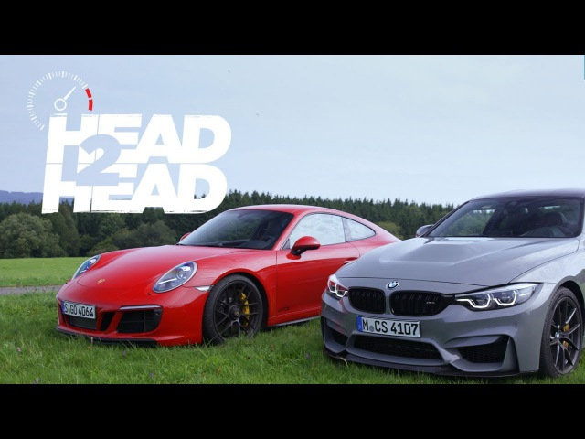 2018 BMW M4 CS vs. 2018 Porsche 911 GTS - Head 2 Head Ep. 95