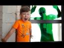 Alien Invasion! Вторжение Инопланетян! НЕРФ ВОЙНА за Выживание Начинается! Scary Alien in my House