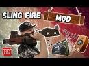 Безбашенный МОД Стропы огня / Nerf Slingfire MOD