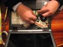 Замена батарейки CMOS в ноутбуке Fujitsu Siemens Esprimo mobile U 9200