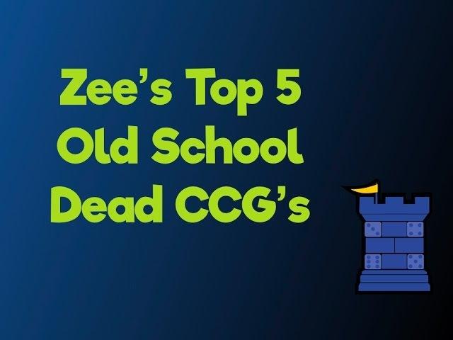 My Top 5 Dead CCGs - with Zee Garcia