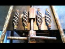 Самодельное ручное приспособление для изготовления шишек корзинок без токарных работ