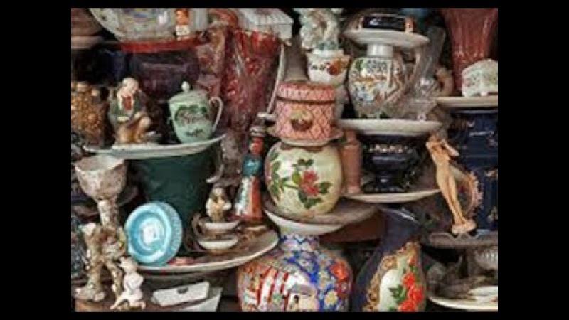 Блошиный рынок в Вене/Vienna flea market