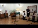 Peterburga klubo KARILJONO en la Belga Konsulejo 13 decembre 2017